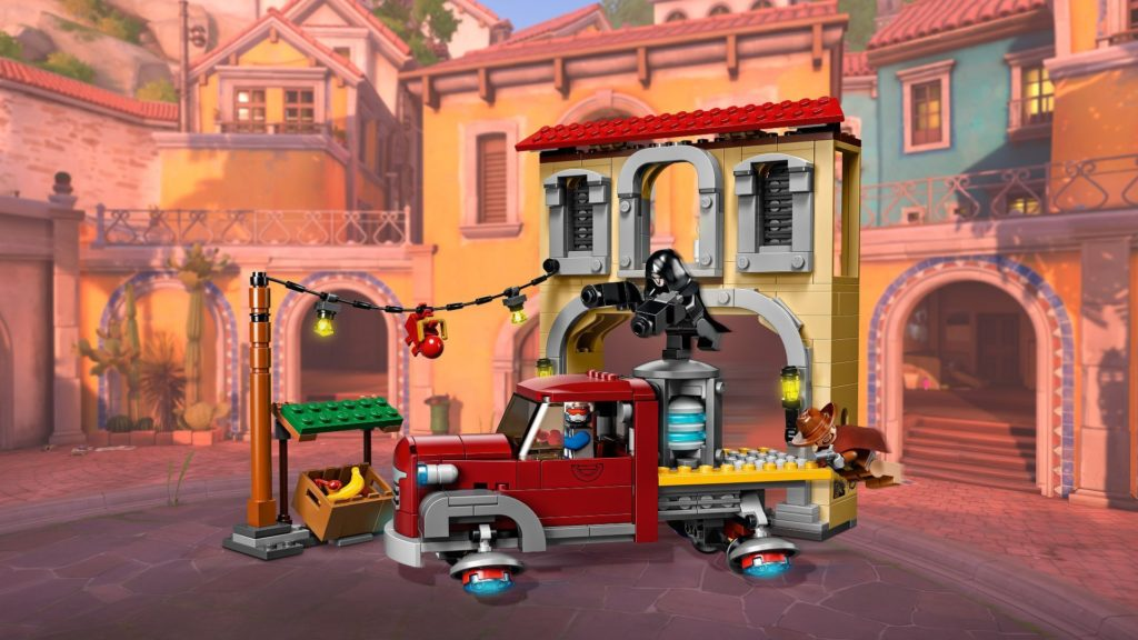 LEGO® Overwatch 75972 Dorado Showdown - Action mit Hintergrund | ©LEGO Gruppe