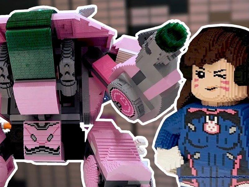 LEGO Overwatch D.VA und ihr Mech - Titelbild | LEGO Gruppe