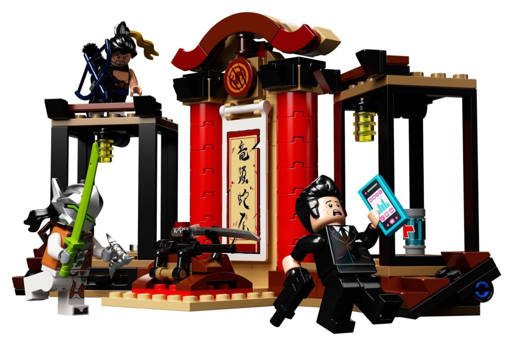 LEGO® Overwatch 75971 Hanzo vs. Genji - Action | ©LEGO Gruppe