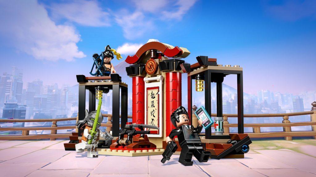 LEGO® Overwatch 75971 Hanzo vs. Genji - Action mit Hintergrund | ©LEGO Gruppe