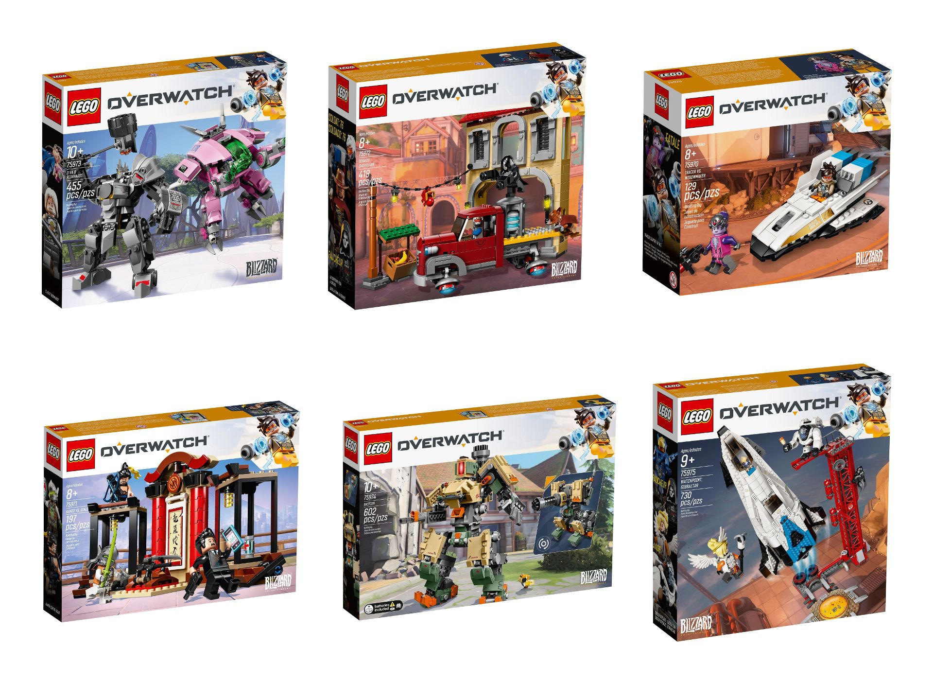 lego overwatch sets vorbestellbar ab 1 januar 2019. Black Bedroom Furniture Sets. Home Design Ideas