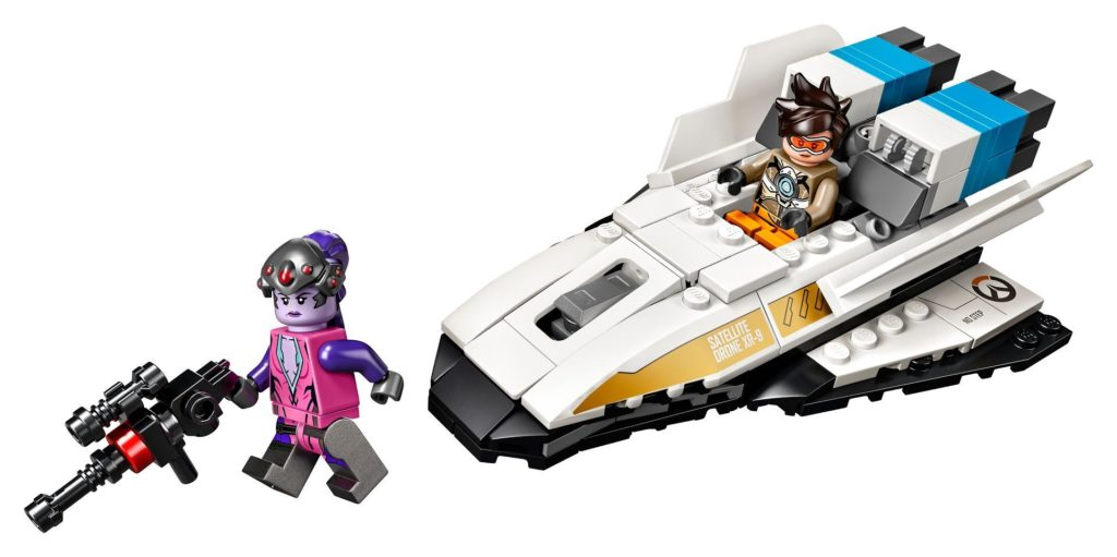 LEGO® Overwatch 75970 Tracer vs. Widowmaker - Set | ©LEGO Gruppe