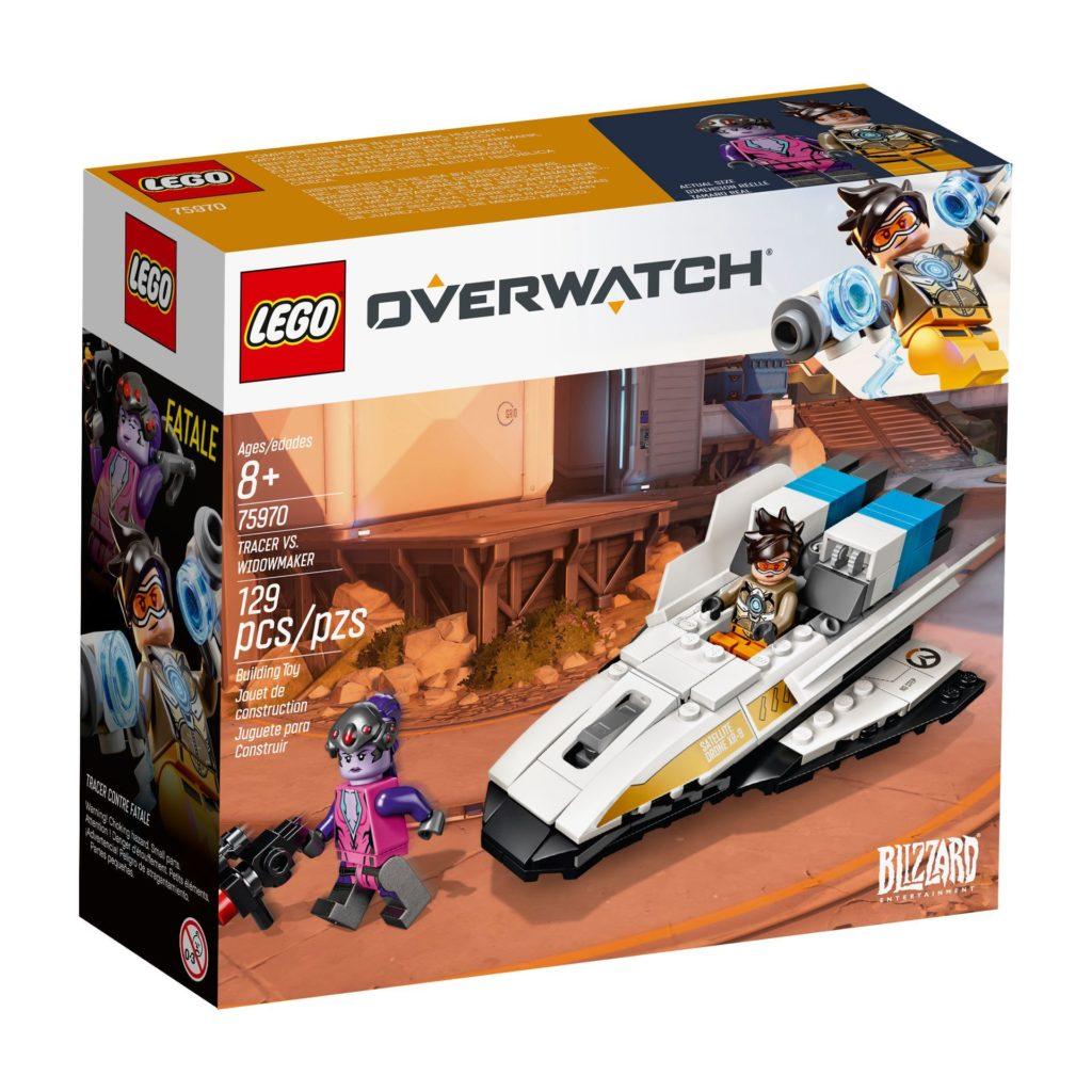LEGO® Overwatch 75970 Tracer vs. Widowmaker - Packung Vorderseite | ©LEGO Gruppe