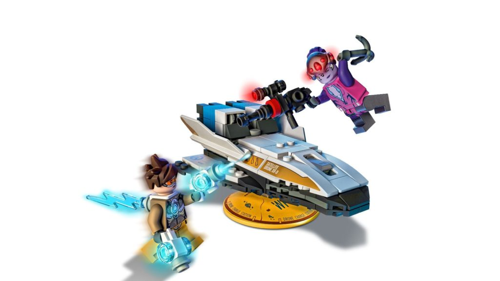LEGO® Overwatch 75970 Tracer vs. Widowmaker - Aktion | ©LEGO Gruppe