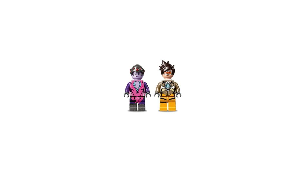 LEGO® Overwatch 75970 Tracer vs. Widowmaker - Minifiguren | ©LEGO Gruppe