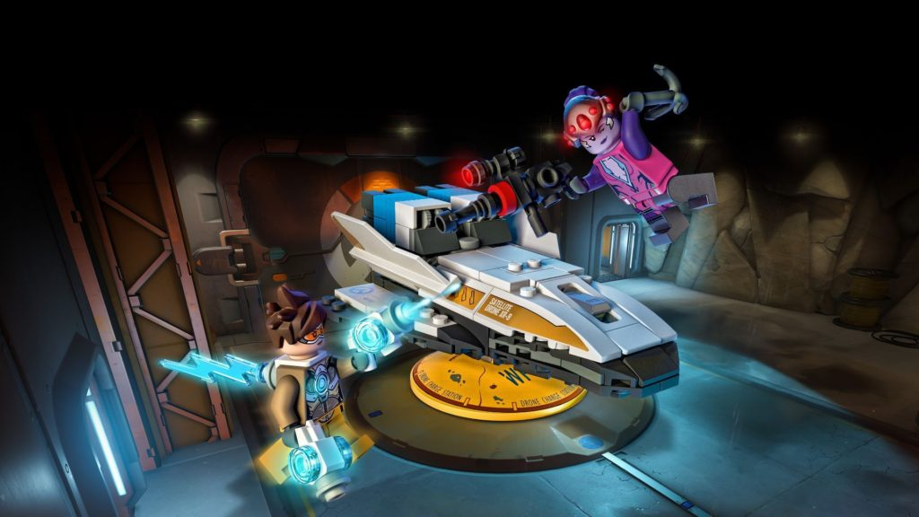 LEGO® Overwatch 75970 Tracer vs. Widowmaker - Action mit Hintergrund | ©LEGO Gruppe
