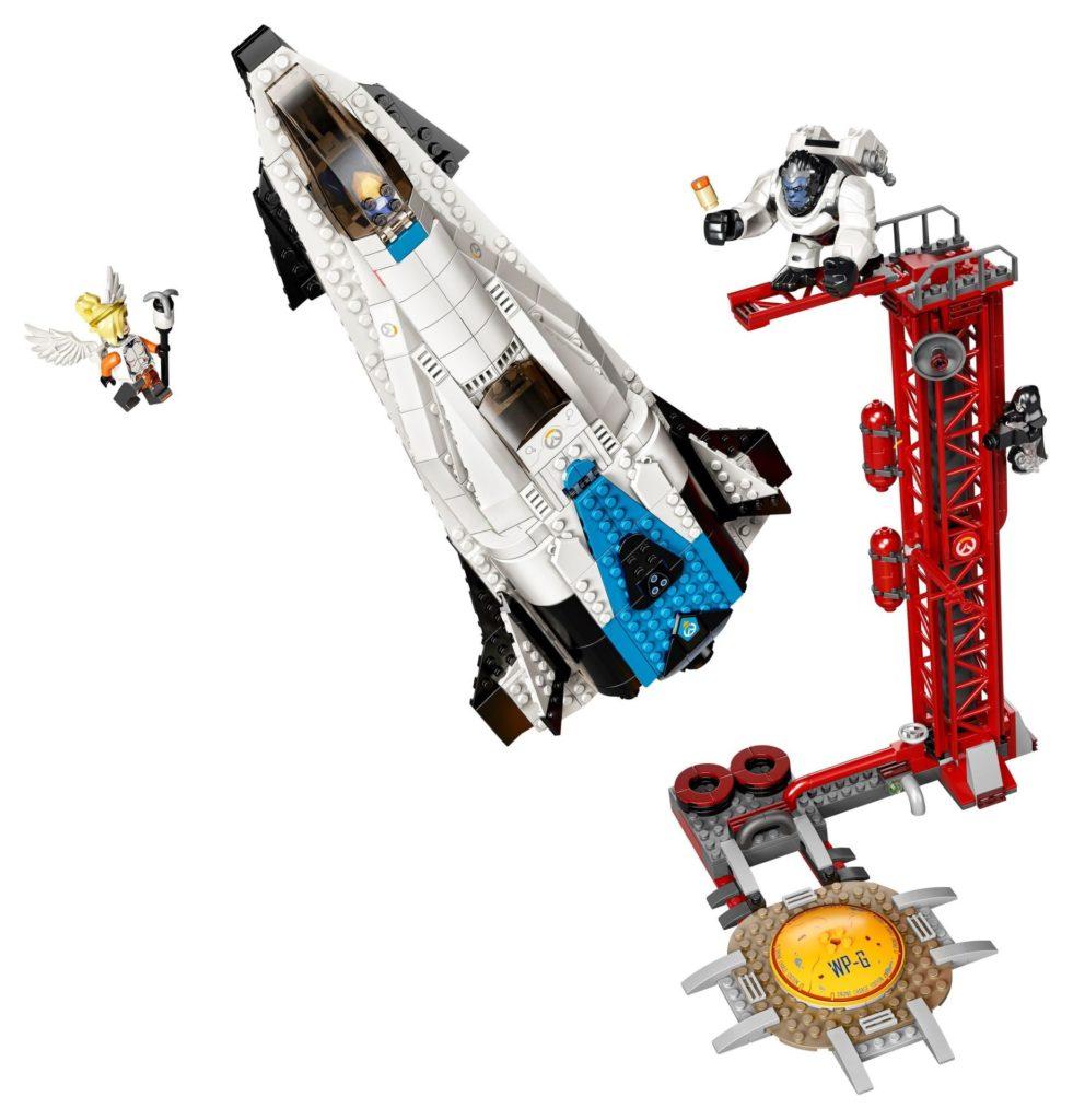 LEGO® Overwatch 75975 Watchpoint: Gibraltar - Action   ©LEGO Gruppe
