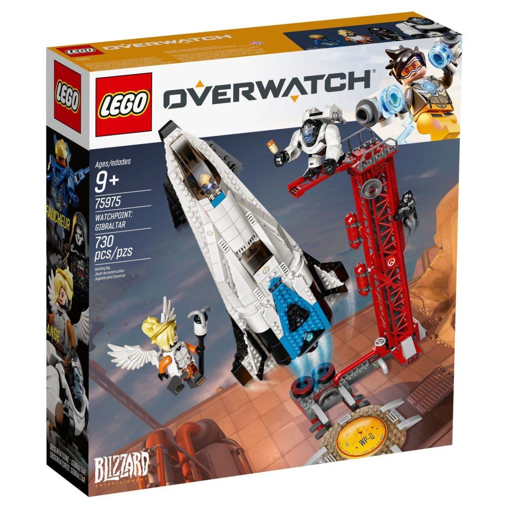 LEGO® Overwatch 75975 Watchpoint: Gibraltar - Packung Vorderseite | ©LEGO Gruppe