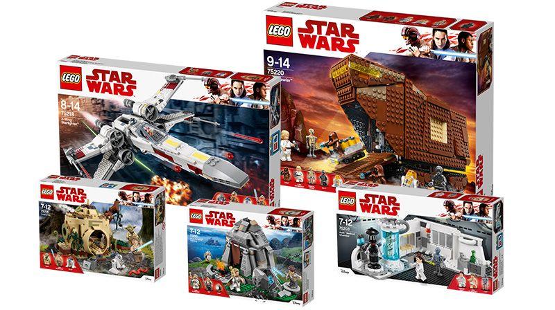 "LEGO® Star Wars™ Paket ""Das Leben Luke Skywalkers"" (5005754) | ©LEGO Gruppe"