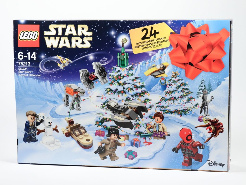 LEGO® Star Wars™ 75213 Adventskalender 2018 - Packung | ©Brickzeit