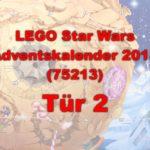 LEGO® Star Wars™ 75213 Adventskalender 2018 - Tür 2 | ©Brickzeit