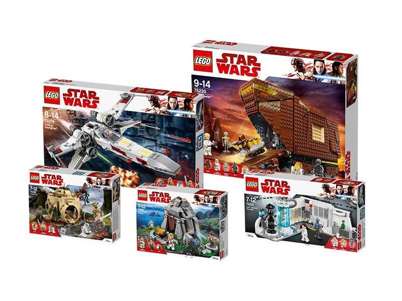 "LEGO® Star Wars™ Paket ""Das Leben Luke Skywalkers"" (5005754) - Titelbild | ©LEGO Gruppe"