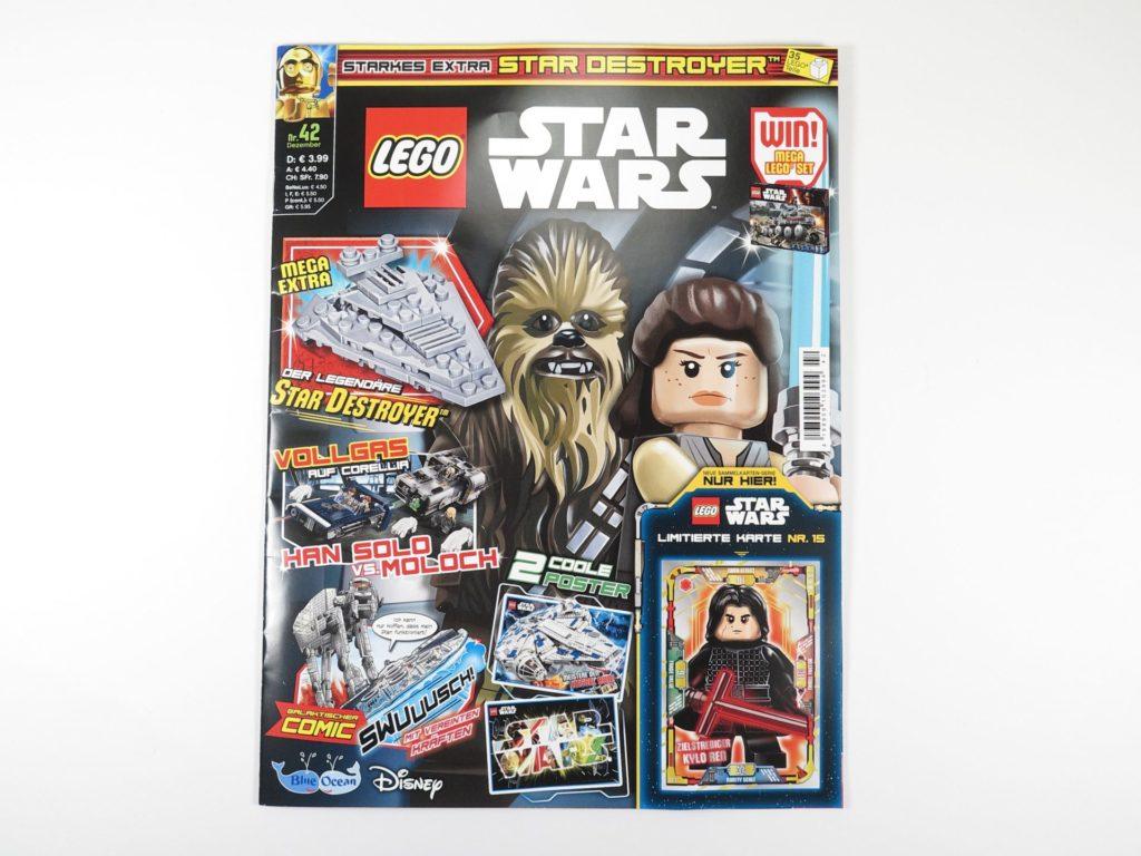 LEGO® Star Wars™ Magazin 42 - Dezember 2018 - Cover | ©2018 Brickzeit