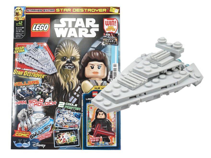 LEGO® Star Wars™ Magazin 42 - Dezember 2018 - Titelbild | ©2018 Brickzeit