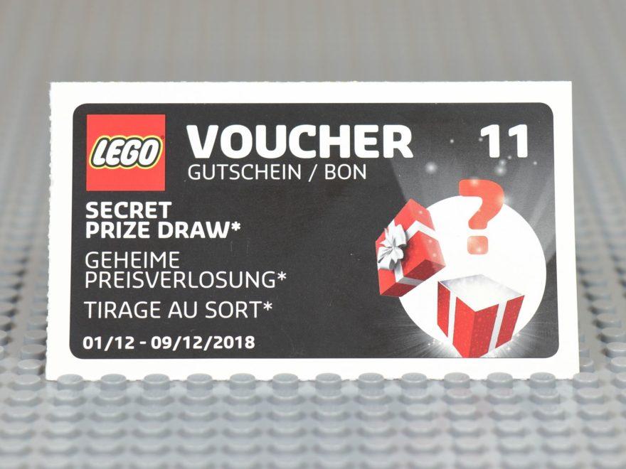 LEGO® Wandkalender 2018 Gutschein Nr. 12 | ©2018 Brickzeit