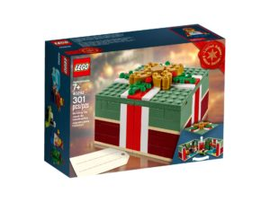 LEGO Weihnachtsgeschenk 40292 - Packung Vorderseite | ®LEGO Gruppe