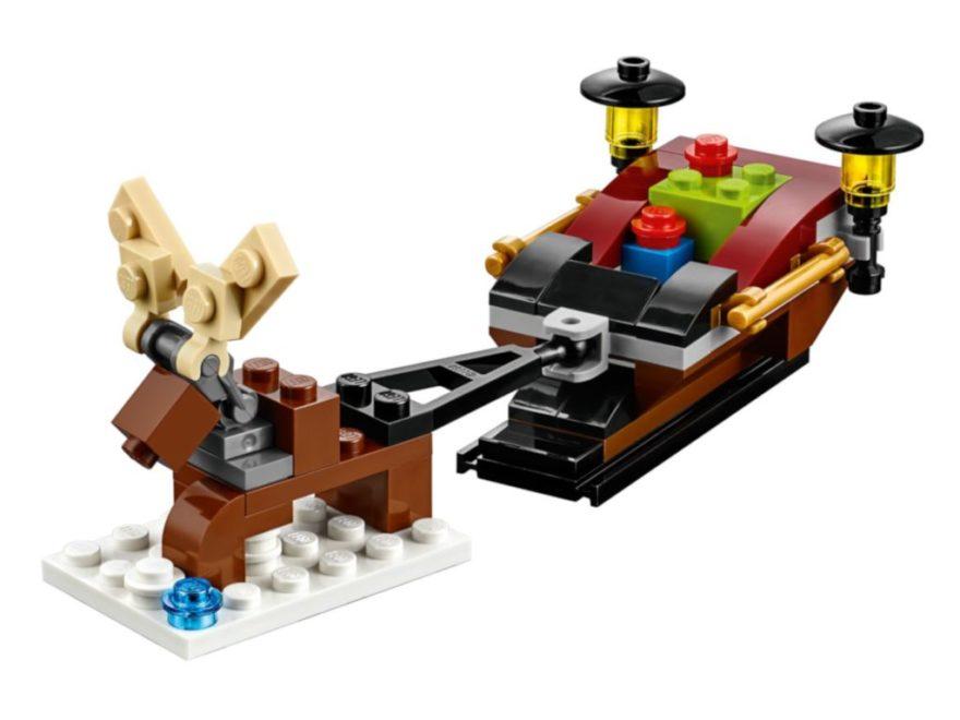 LEGO 40287 Rentierschlitten - Titelbild | ©LEGO Gruppe