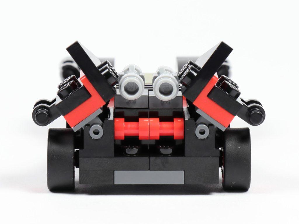 LEGO® 30526 Batmobil - Rückseite | ©2018 Brickzeit