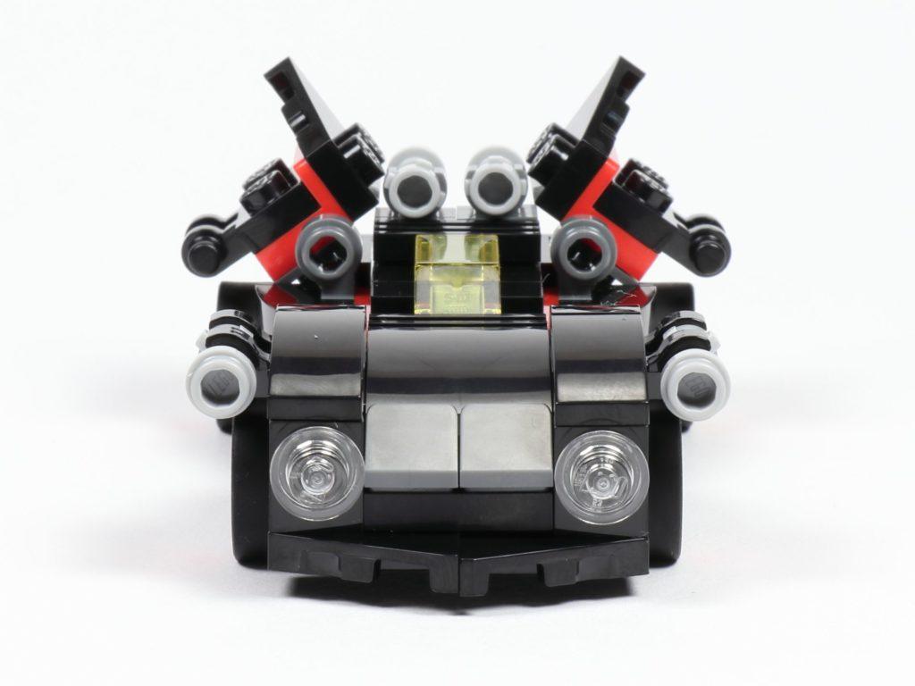 LEGO® 30526 Batmobil - Vorderseite | ©2018 Brickzeit