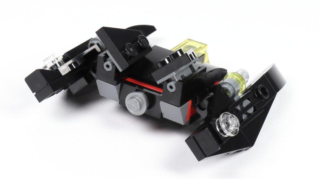 LEGO® 30526 Batwing - hinten, rechts | ©2018 Brickzeit