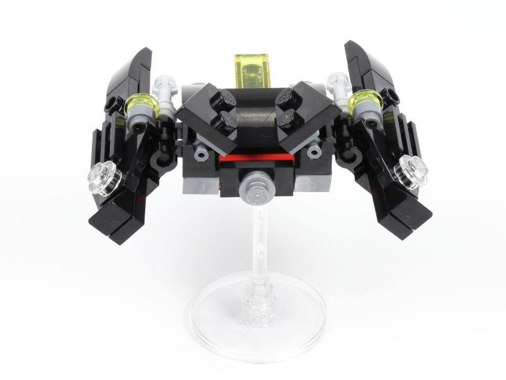 LEGO® 30526 Batwing - Rückseite | ©2018 Brickzeit