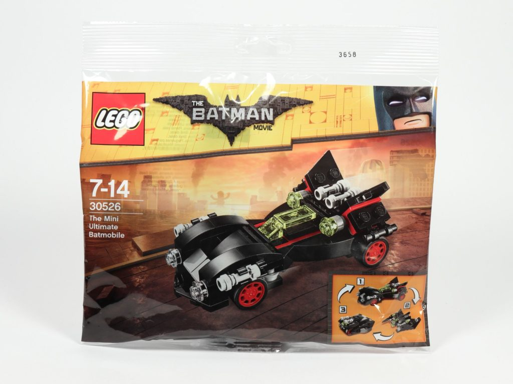 LEGO® 30526 The Mini Ultimate Batmobile Polybag | ©2018 Brickzeit