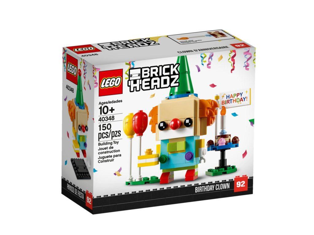 LEGO® Brickheadz 40348 Geburtstagsclown | ©LEGO Gruppe