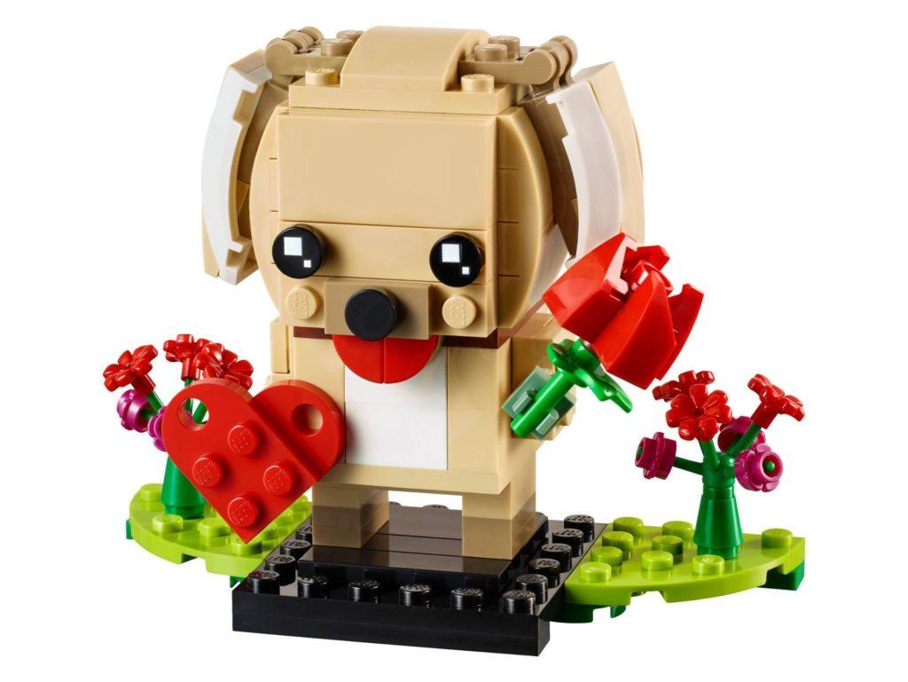 LEGO® Brickheadz 40349 Valentinstag-Welpe | ©LEGO Gruppe