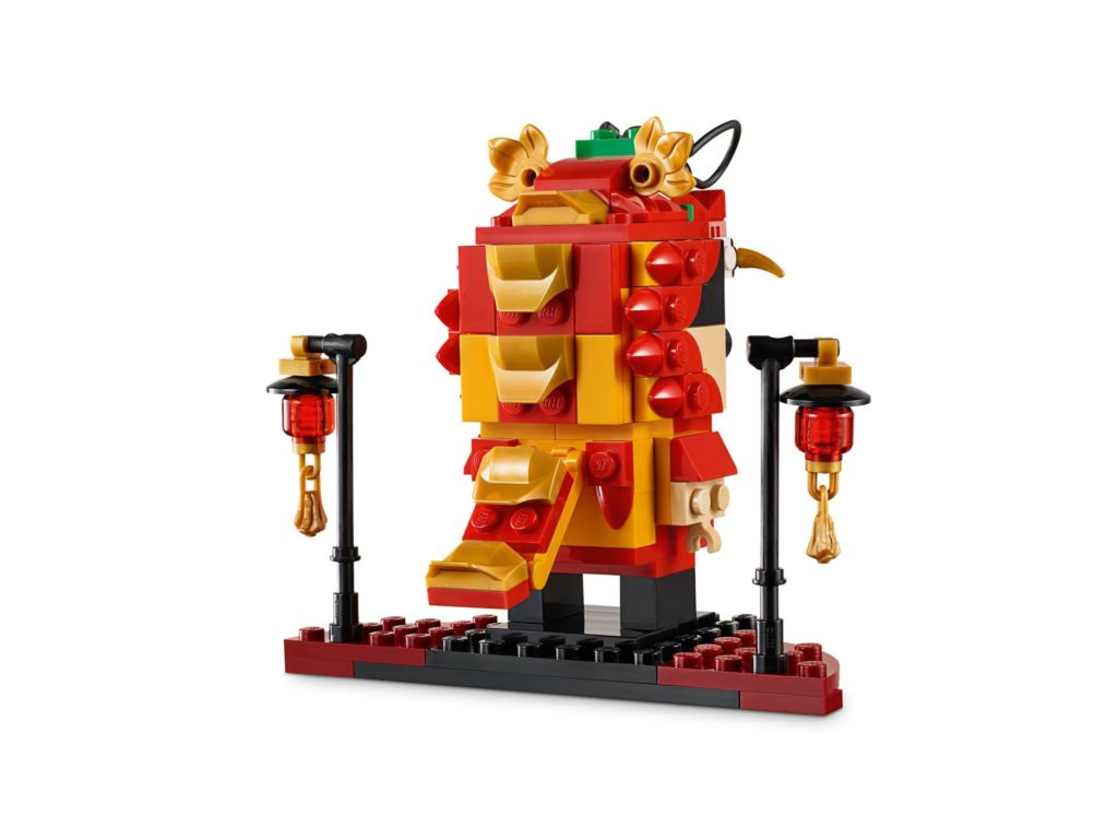 LEGO® Brickheadz 40354 Drachentanz-Mann | ©LEGO Gruppe
