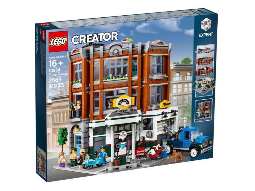 LEGO® Creator Expert 10264 Eckgarage - Titelbild | LEGO© Gruppe