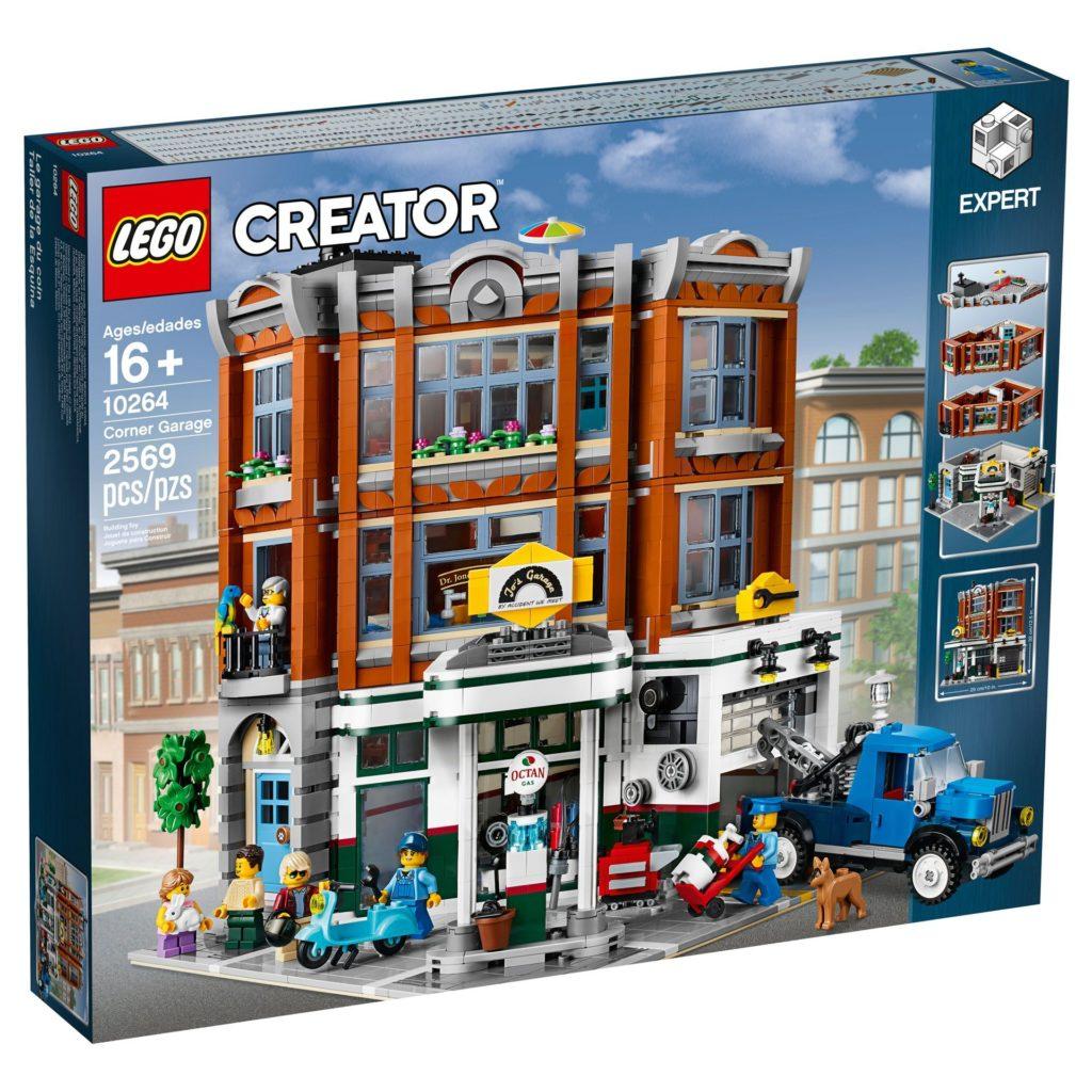 LEGO® Creator Expert 10264 Eckgarage - Packung Vorderseite | LEGO© Gruppe