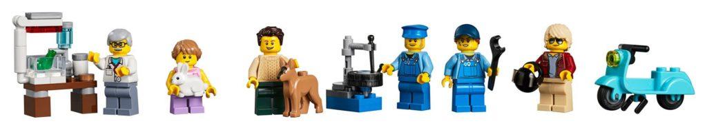 LEGO® Creator Expert 10264 Eckgarage - Minifiguren | LEGO© Gruppe