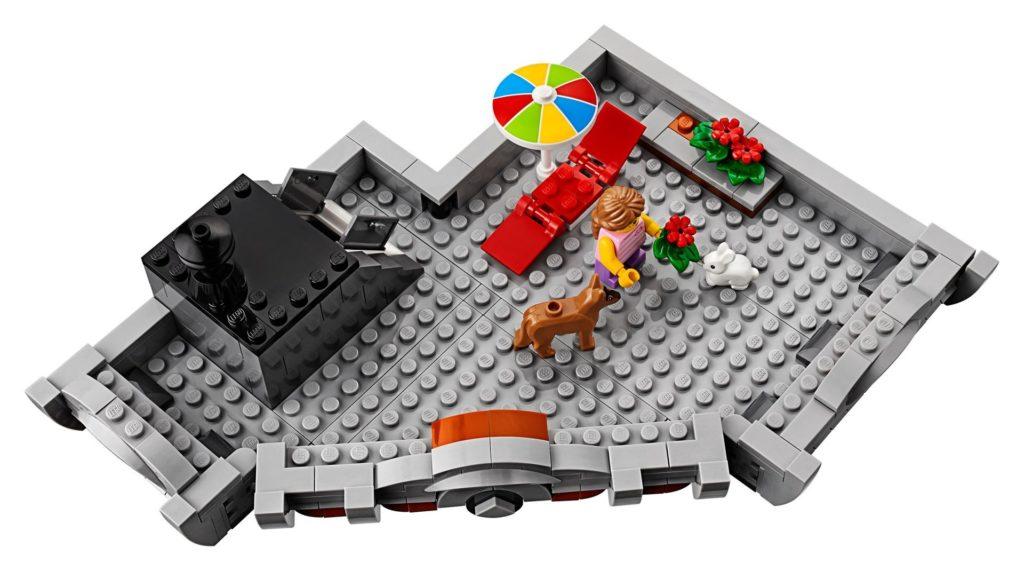 LEGO® Creator Expert 10264 Eckgarage - Tierarztpraxis - Terasse | LEGO© Gruppe