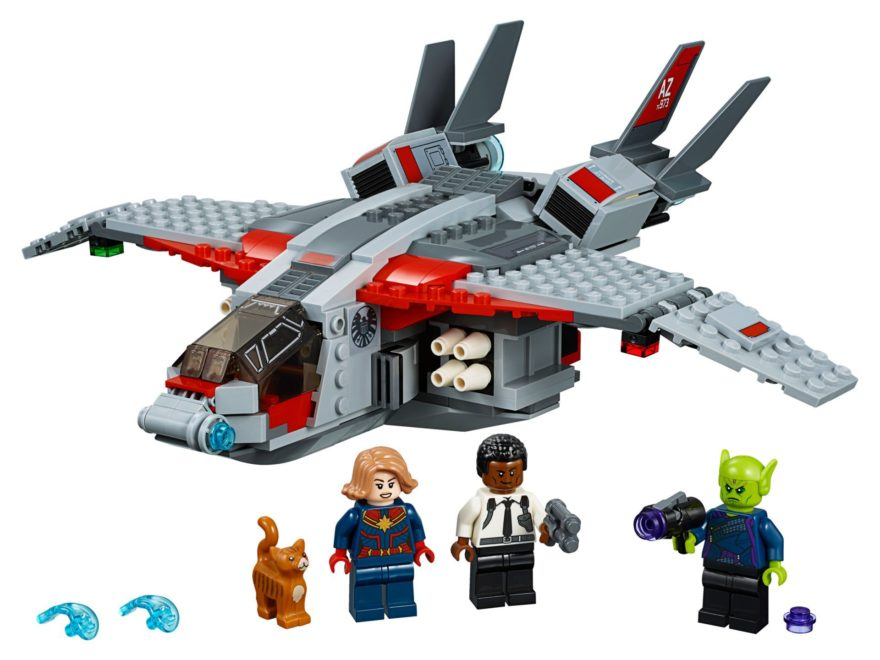 LEGO® Marvel Super Heroes 76127 Captain Marvel und die Skrull-Attacke | ©LEGO Gruppe