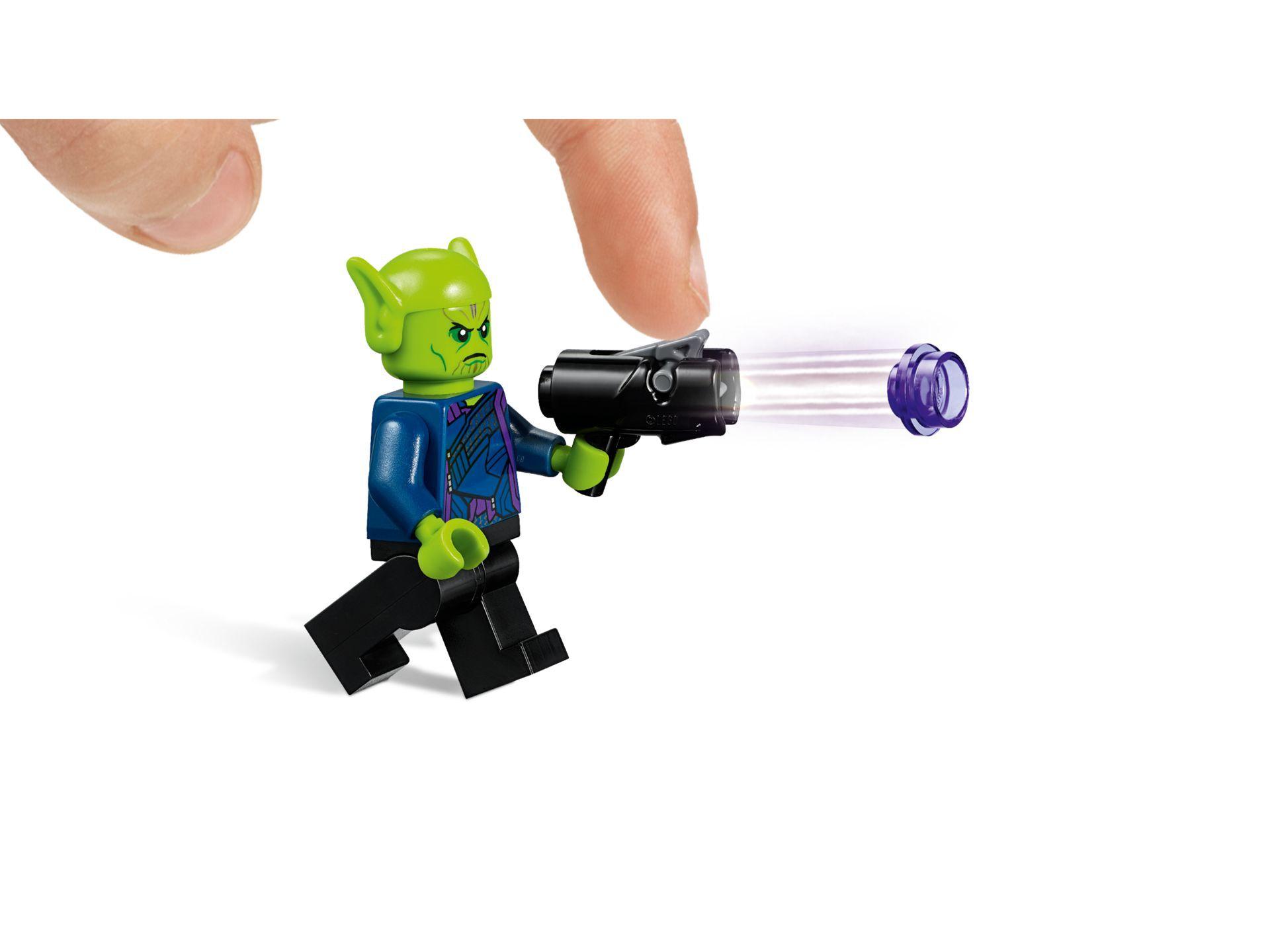 Lego 76127 Captain Marvel Und Die Skrull Attacke Im Lego Shop