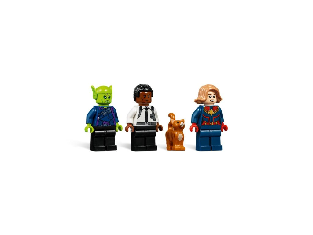 LEGO® Marvel Super Heroes 76127 Captain Marvel und die Skrull-Attacke - Minifiguren | ©LEGO Gruppe
