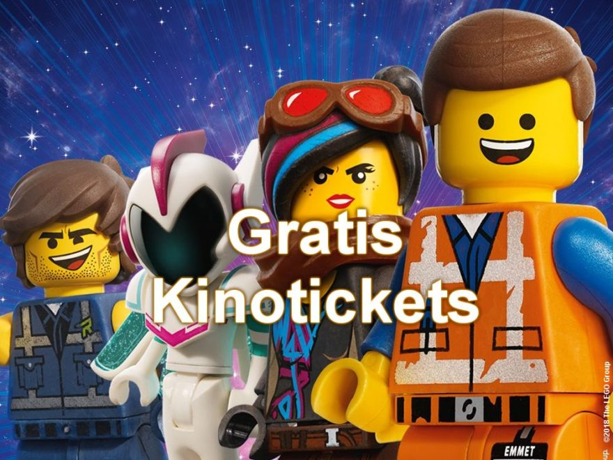 LEGO Movie 2 gratis Kinoticket Promotion - Titelbild