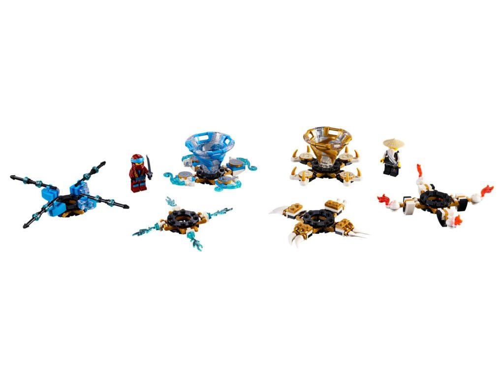 LEGO® Ninjago 70663 Spinjitzu Nya und Meister Wu | ©LEGO Gruppe