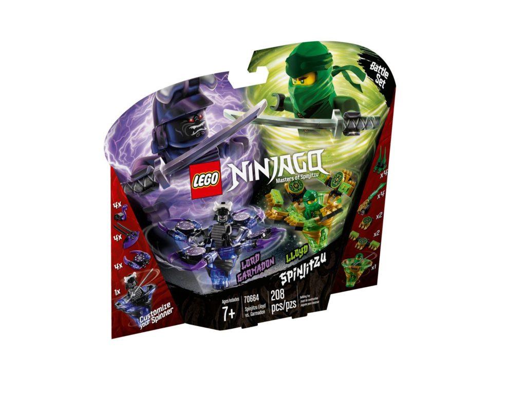 LEGO® Ninjago 70664 Spinjitzu Lord Garmadon und Lloyd | ©LEGO Gruppe