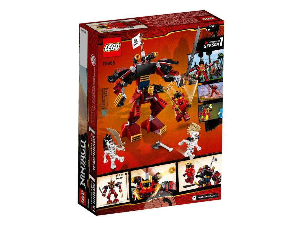 LEGO® Ninjago 70665 The Samurai Mech | ©LEGO Gruppe