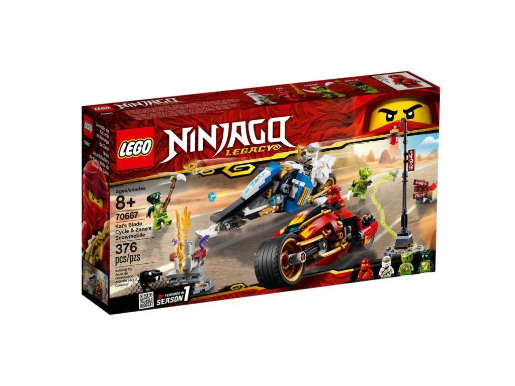 LEGO® Ninjago 70667 Kay's Blade Cycle & Zane's Snowmobile | ©LEGO Gruppe