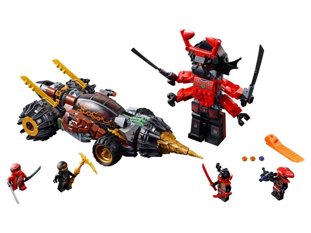 LEGO® Ninjago 70669 Cole's Earth Driller | ©LEGO Gruppe