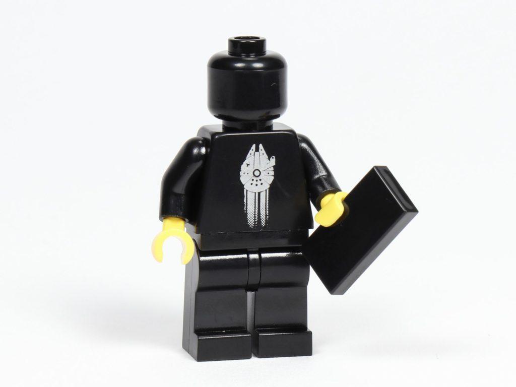 LEGO® Präsentationsständer für die schwarze VIP-Karte (5005747) - Minfigur Vorderseite | ©2018 Brickzeit
