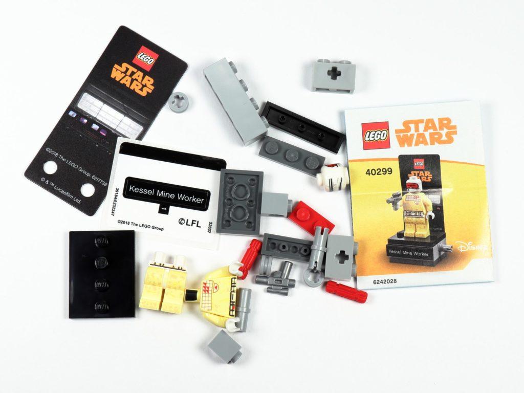 LEGO® Star Wars™ 40299 Kessel Mine Worker - Polybag Inhalt | ©Brickzeit