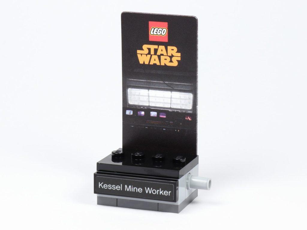 LEGO® Star Wars™ 40299 Kessel Mine Worker - Ständer | ©BrickzeitLEGO® Star Wars™ 40299 Kessel Mine Worker - Ständer | ©Brickzeit