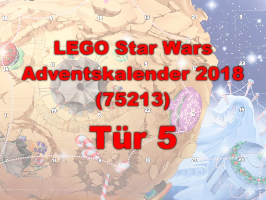 LEGO® Star Wars™ 75213 Adventskalender 2018 - Tür 5 | ©Brickzeit