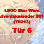 LEGO® Star Wars™ 75213 Adventskalender 2018 - Tür 6 | ©Brickzeit