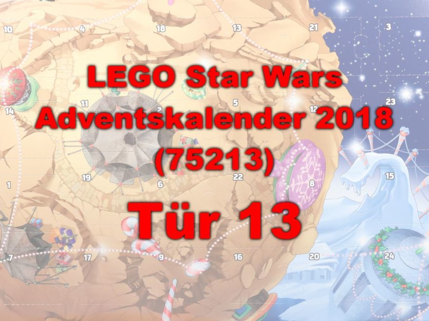 LEGO® Star Wars™ 75213 Adventskalender 2018 - Tür 13 | ©Brickzeit