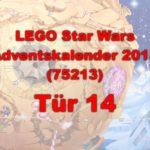 LEGO® Star Wars™ 75213 Adventskalender 2018 - Tür 14 | ©Brickzeit