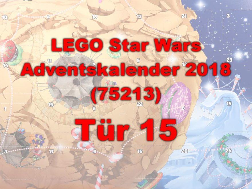 LEGO® Star Wars™ 75213 Adventskalender 2018 - Tür 15   ©Brickzeit